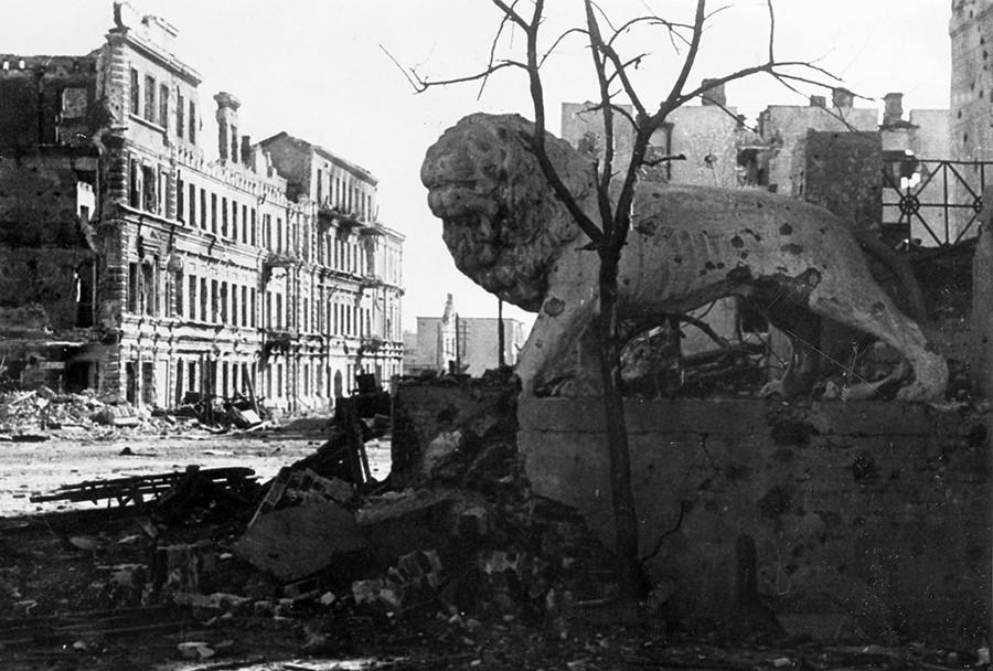 21. Oktober 1942: Stalingrad in Ruinen, aber noch nicht verloren.