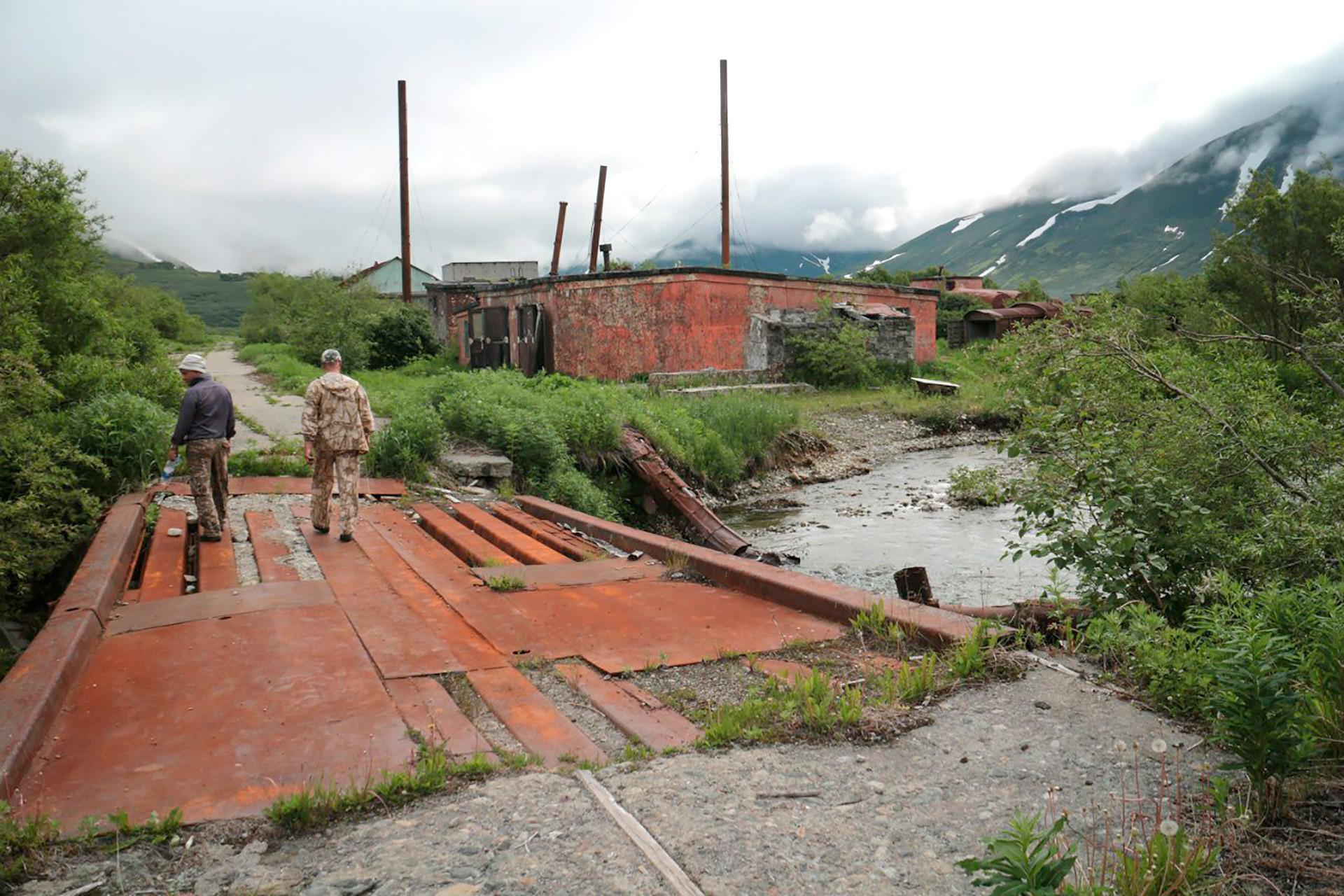 Finval, un pueblo abandonado en la península de Kamchatka.