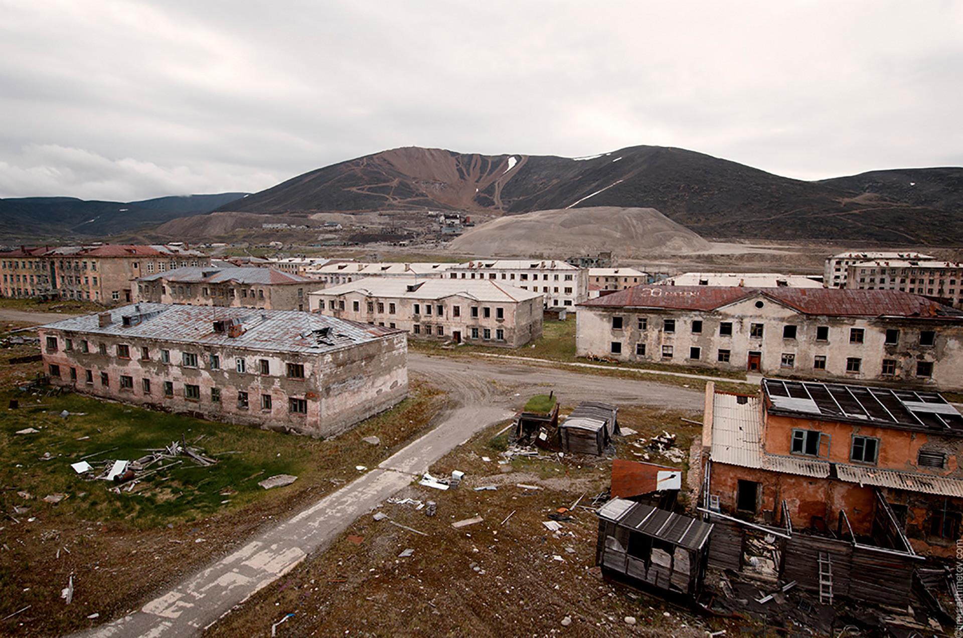 Este asentamiento fue abandonado en la década de los 90.