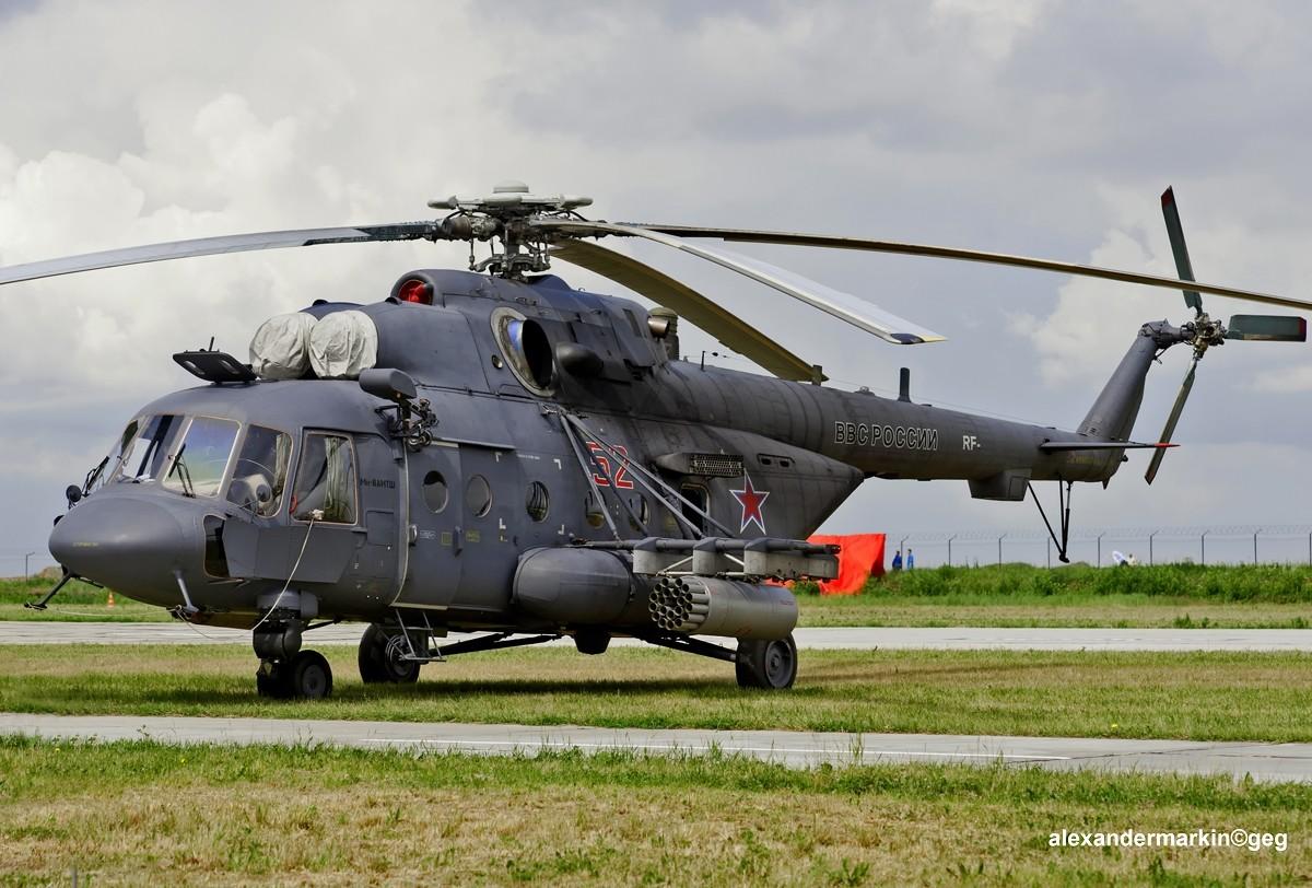 Helikopter Mi-8 AMTŠ