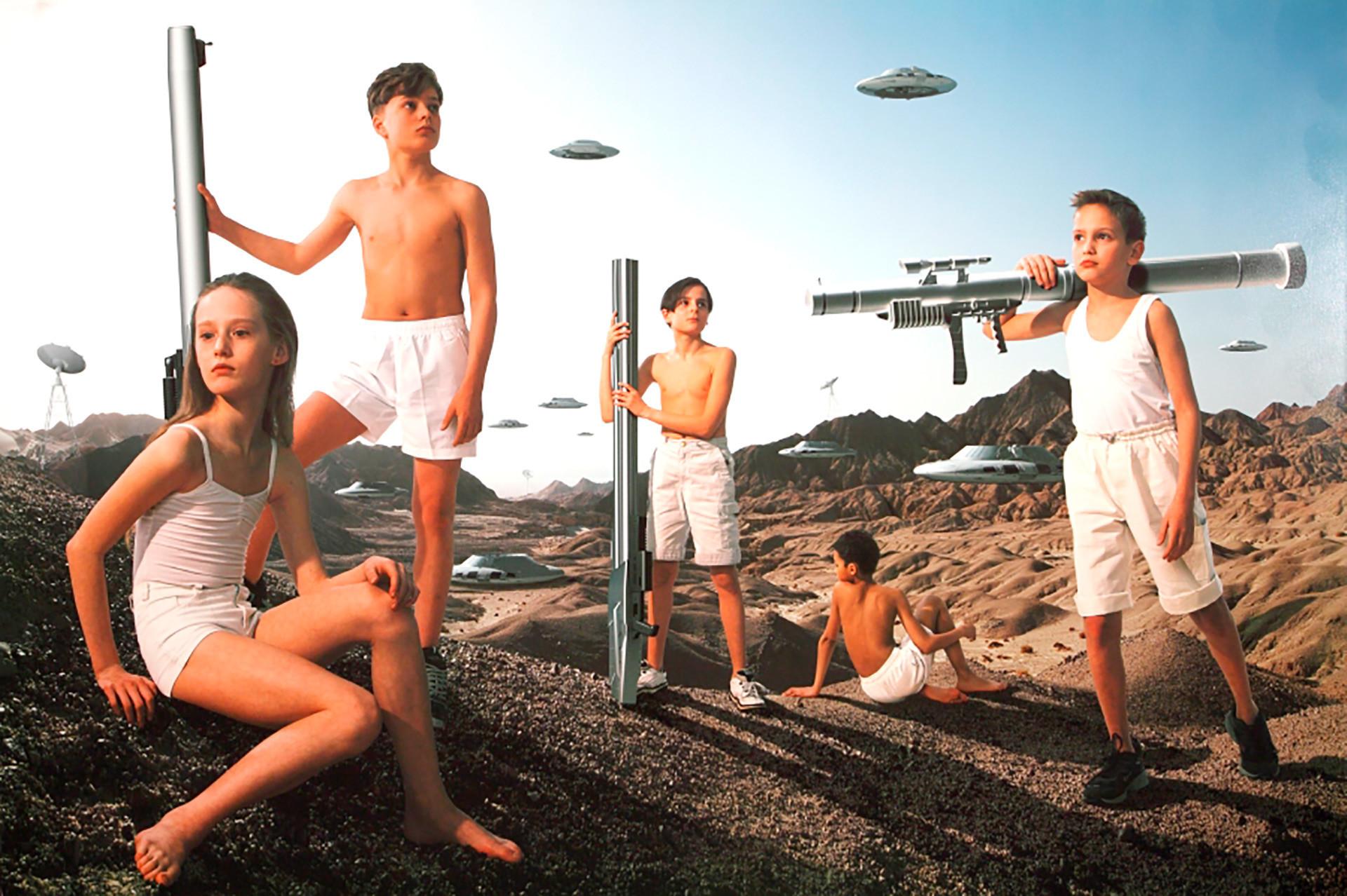 """Gruppo di artisti AES+F. Dalla serie """"Action Half-life"""", 2005-2007"""
