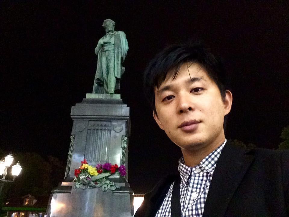 У Москви код споменика песнику Александру Пушкину
