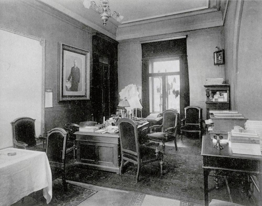 Ured poslovođe, 1913.