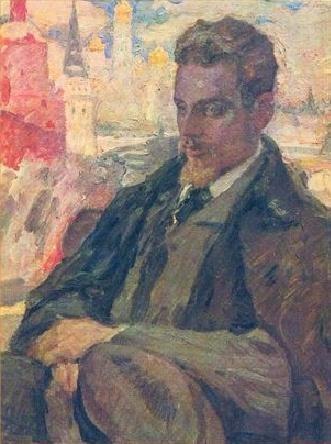 Leonid Pasternak: Porträt von Rainer Maria Rilke, gemalt 1928, zwei Jahre nach dessen Tod