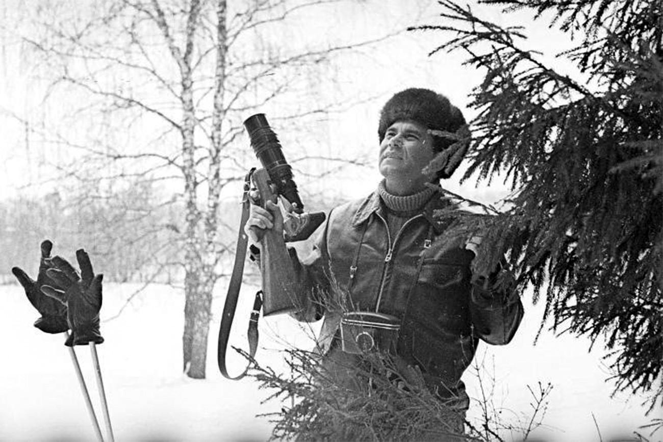 Penulis, fotografer, dan petualang Rusia Vasily Peskov.