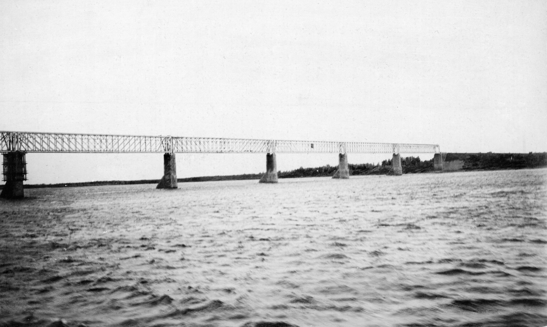 Most nad Volgo okoli leta 1900