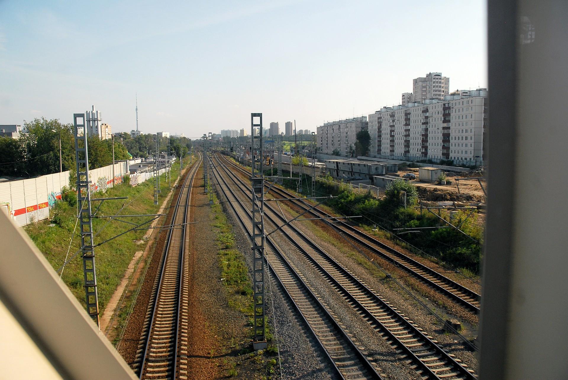 Železnica v Moskvi