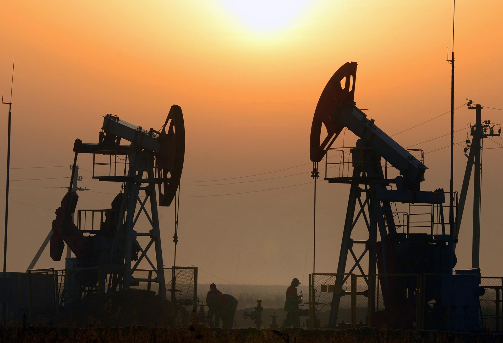 Plataformas de petróleo.
