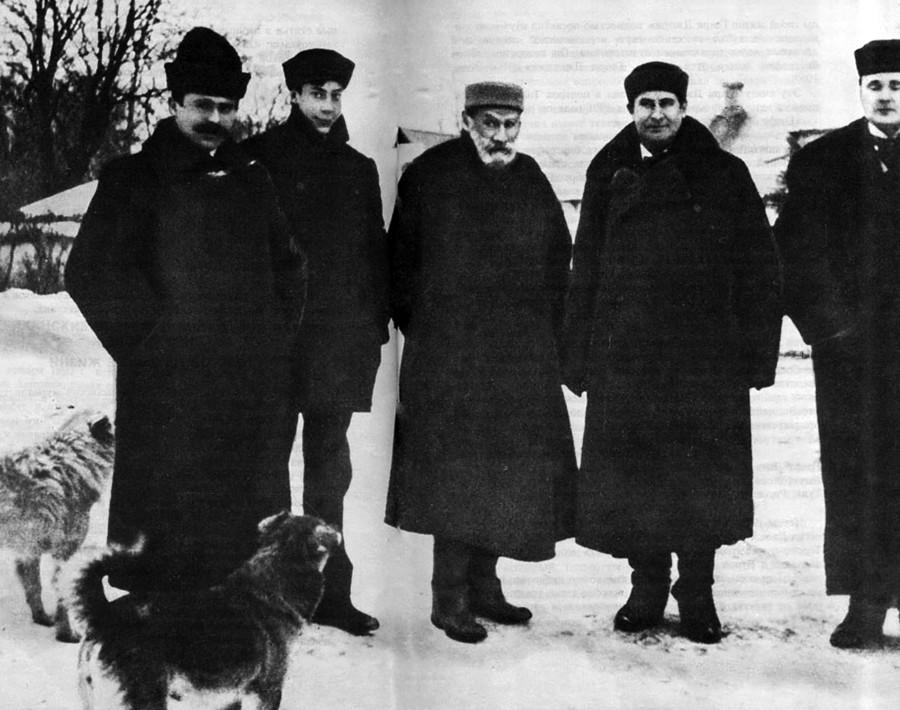 Leo Tolstoy and William Jennings Bryan