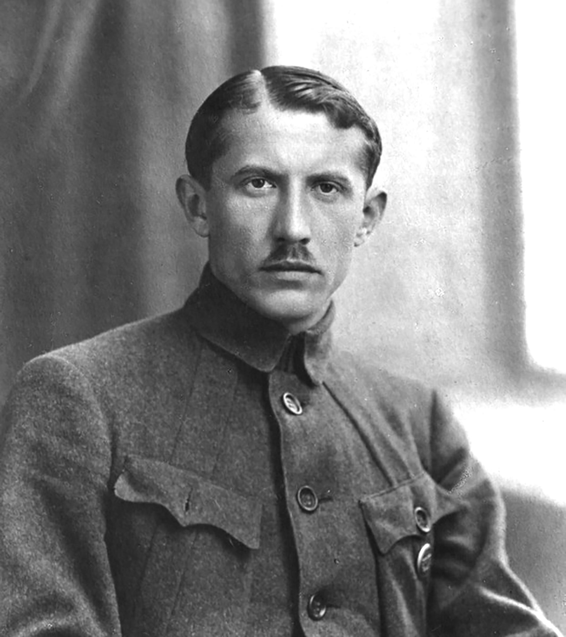 Yevhen Konovalets, a Ukrainian nationalist whom Sudoplatov assassinated.
