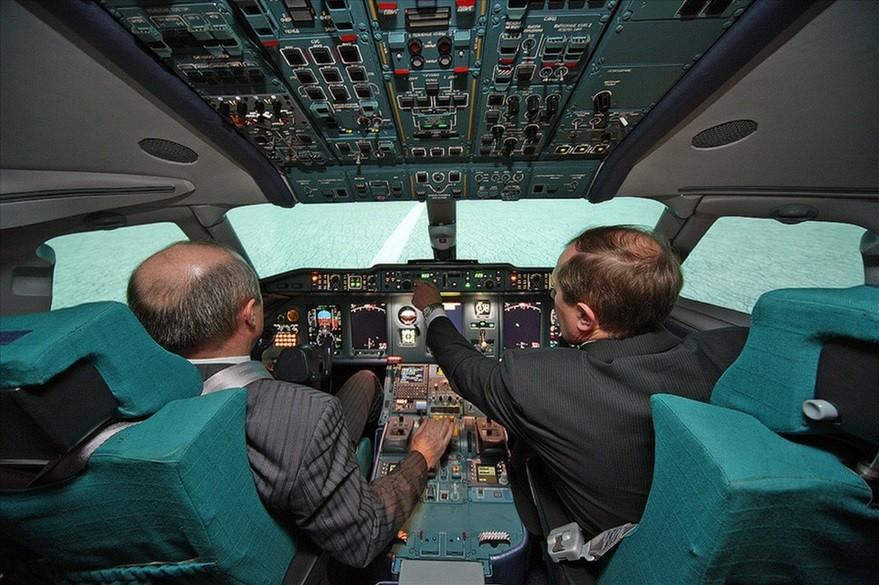 V kabini potniškega letala An-148