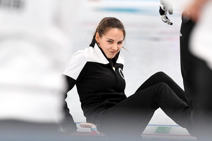 """""""Wir sind hergekommen, um eine Olympische Medaille zu gewinnen, heute haben wir das geschafft und freuen uns sehr darüber!"""", sagte Brysgalowa kurz nach dem Sieg, mit dem sie sich auch in den Herzen des Publikums einen festen Platz sicherten."""