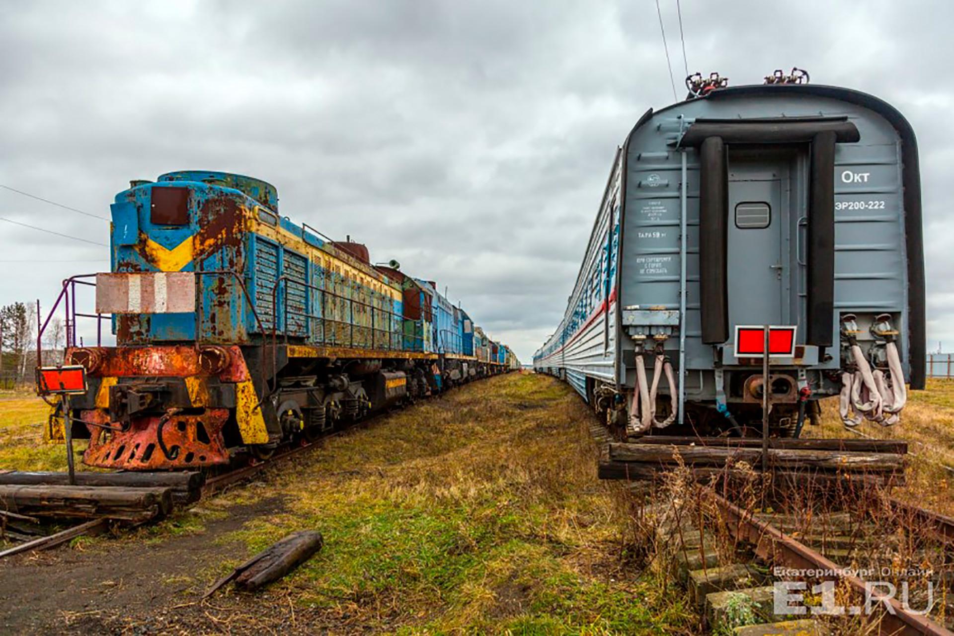 Nur wenige Züge haben die große Ehre, nach ihrer Betriebszeit in einem der zahlreichen Eisenbahnmuseen im Land ausgestellt zu werden.
