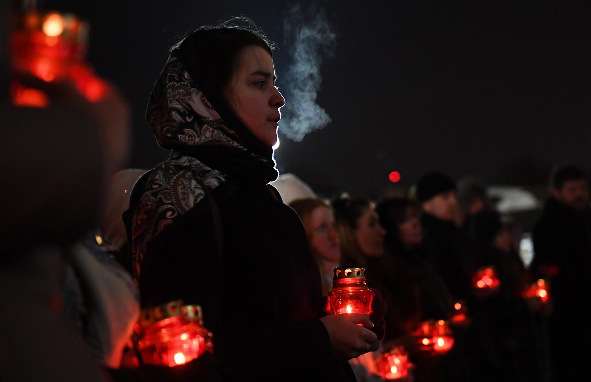 Trauer um die Opfer des Flugzeugabsturzes
