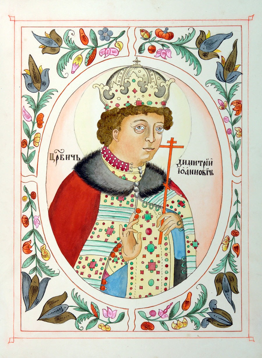 Crown Prince Dmitry. Source: Global Look Press