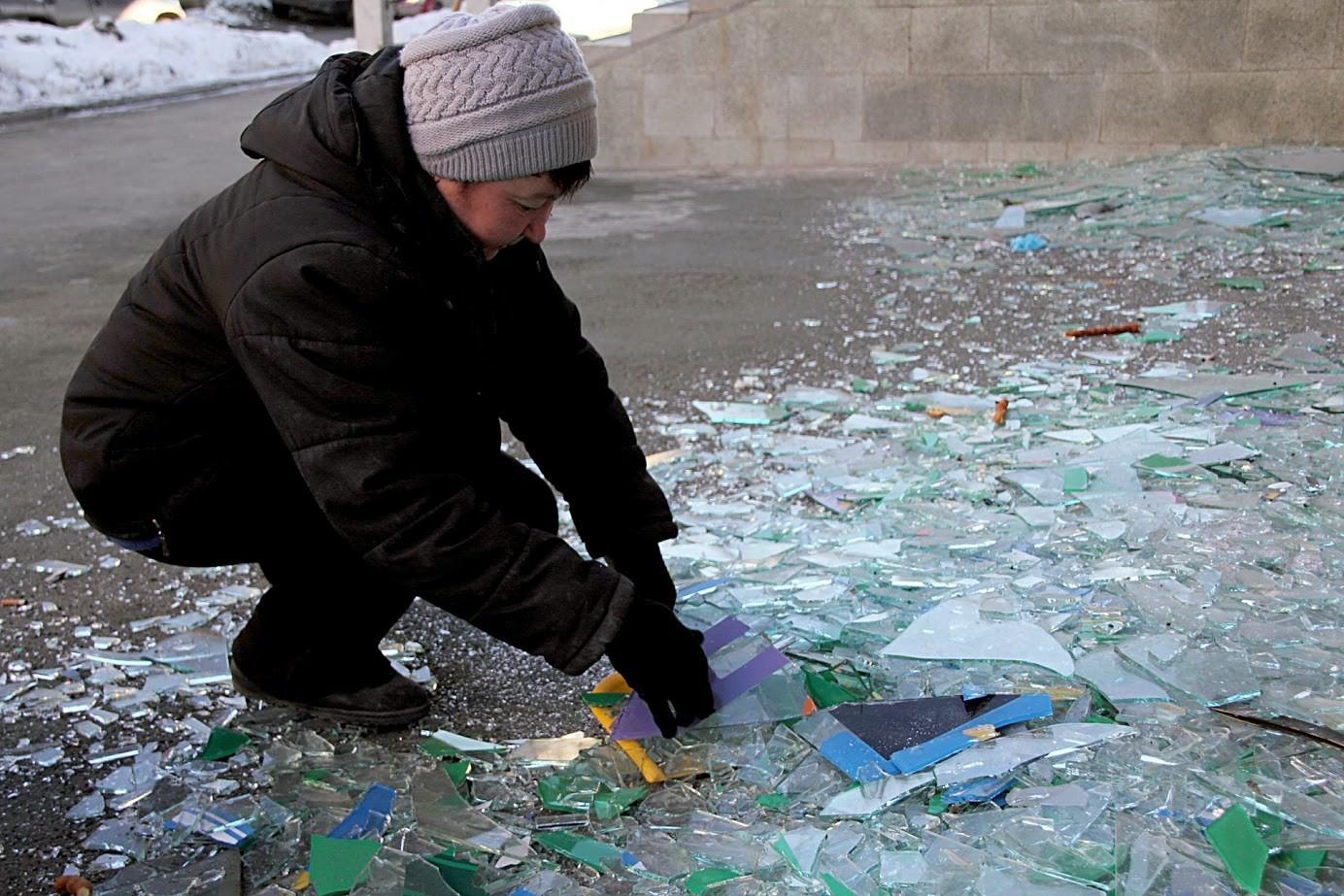 Posledice meteorskega dežja v Čeljabinsku