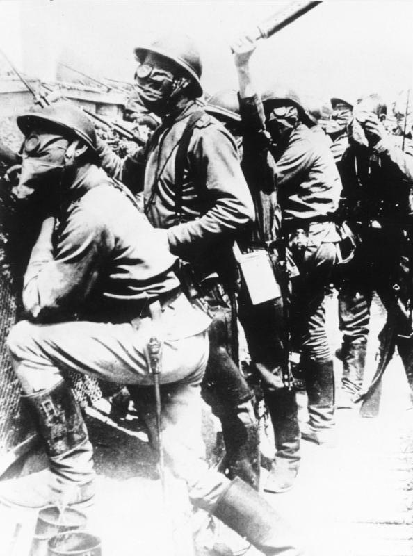 Руски војници на Западном фронту.