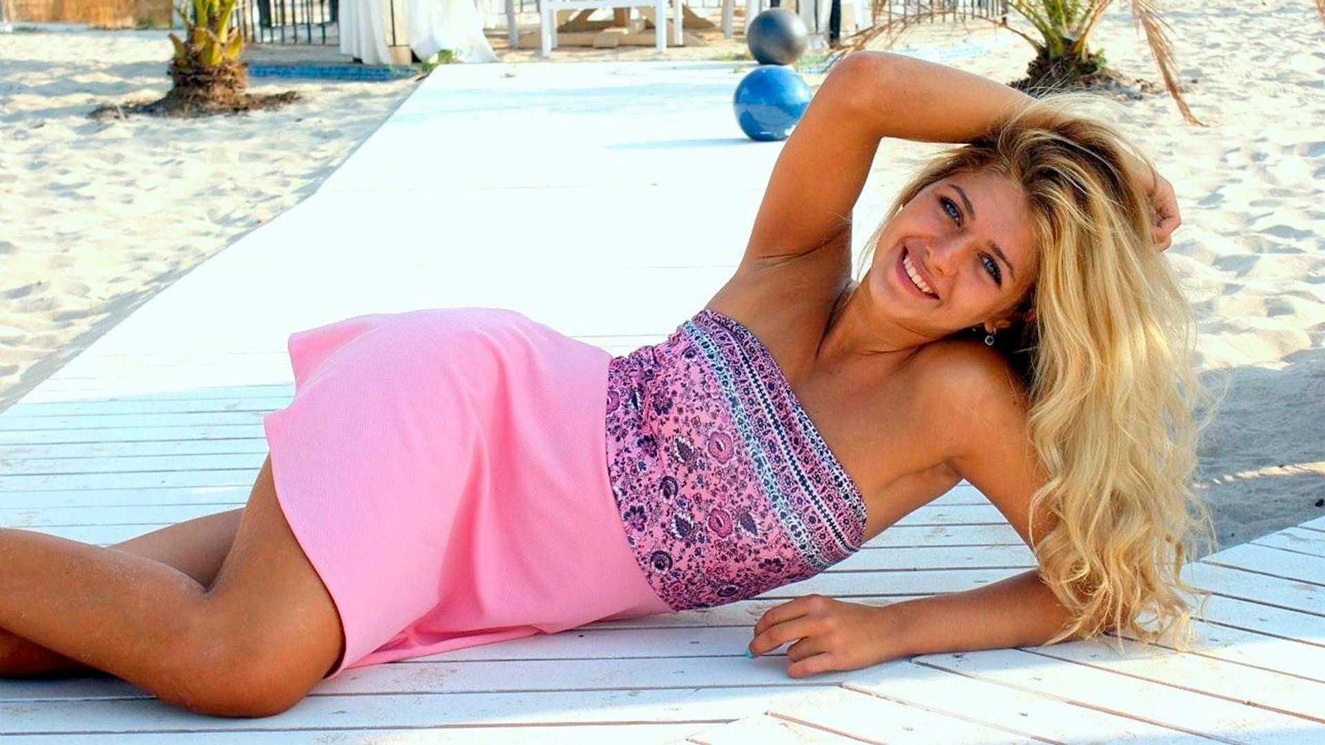 Viktoriya Zavadovskaya, tim seluncur indah.