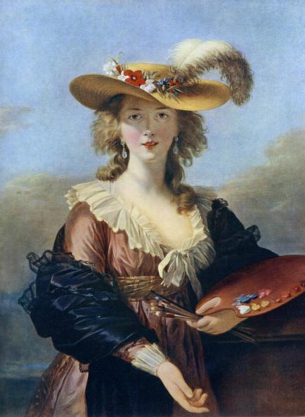 Autoportrait au chapeau de paille (après 1782)