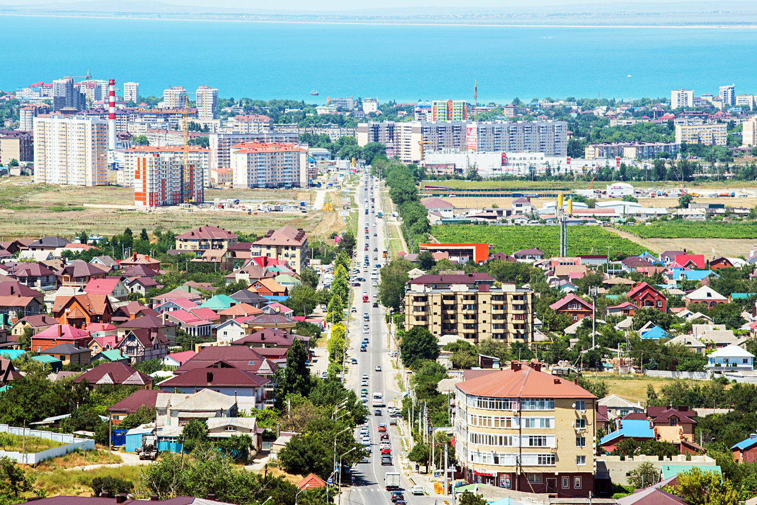 Anapa from above