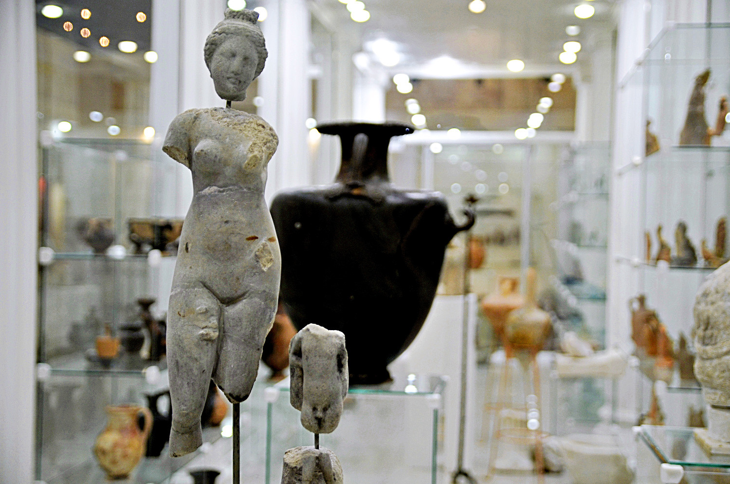 Hellenistic art in today's Russia, Gorgippia archeological museum-reserve
