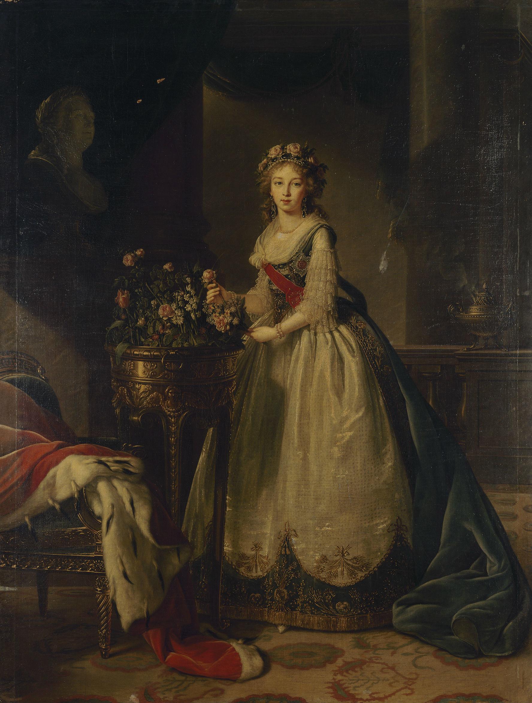 Portrait de la grande duchesse Elisabeth Alexeïevna (1795)