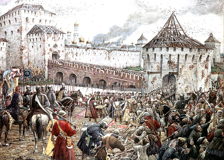 Ernst Lissner: Izgon Poljakov iz Kremlja