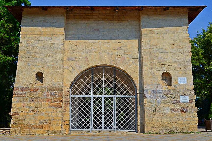 Ruska vrata, ki so jih zgradili turški vladarji.