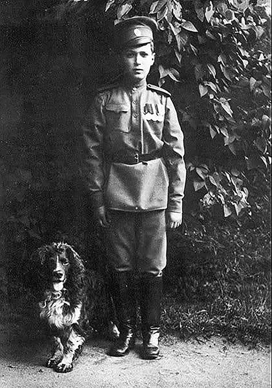 Alexej und sein Hund Joy