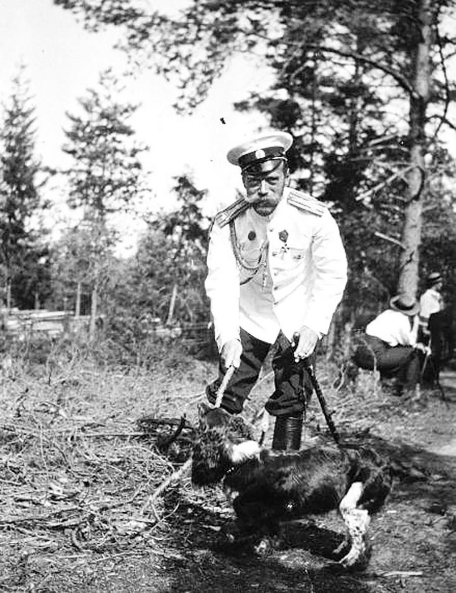 Nikolai II. und Joy