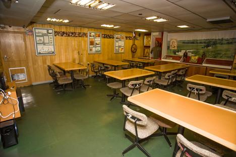 Dnevna soba oficirjev.