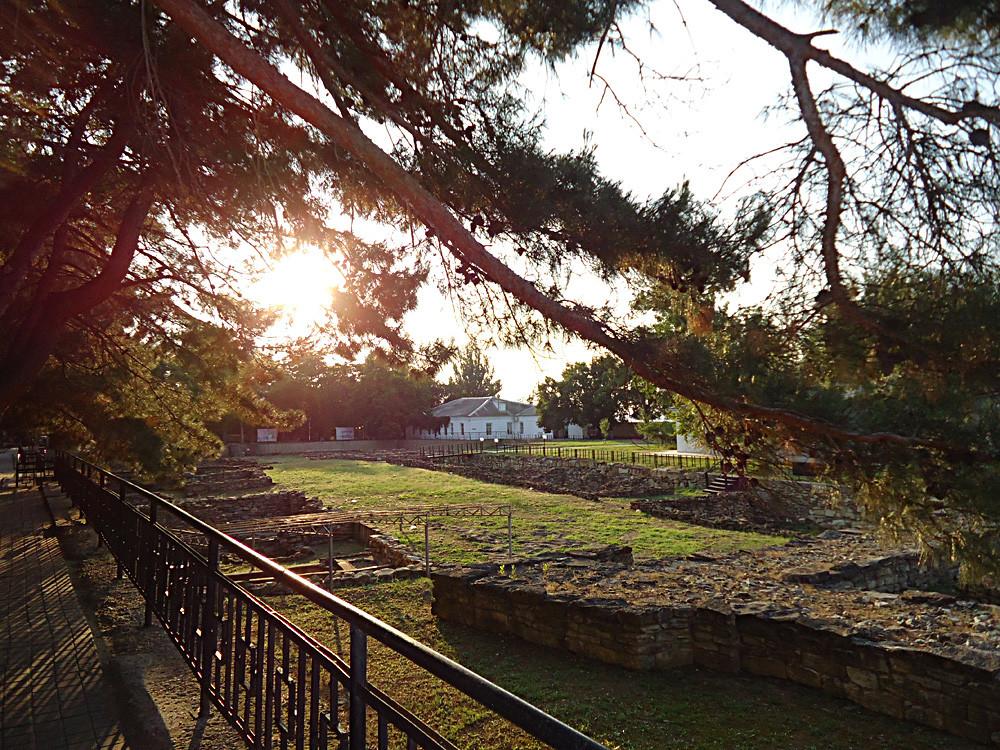 Le musée archéologique de Gorgippia.