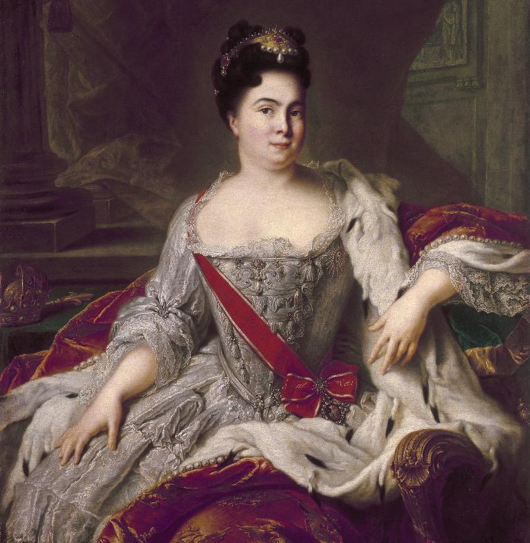 Portret Katarine I.