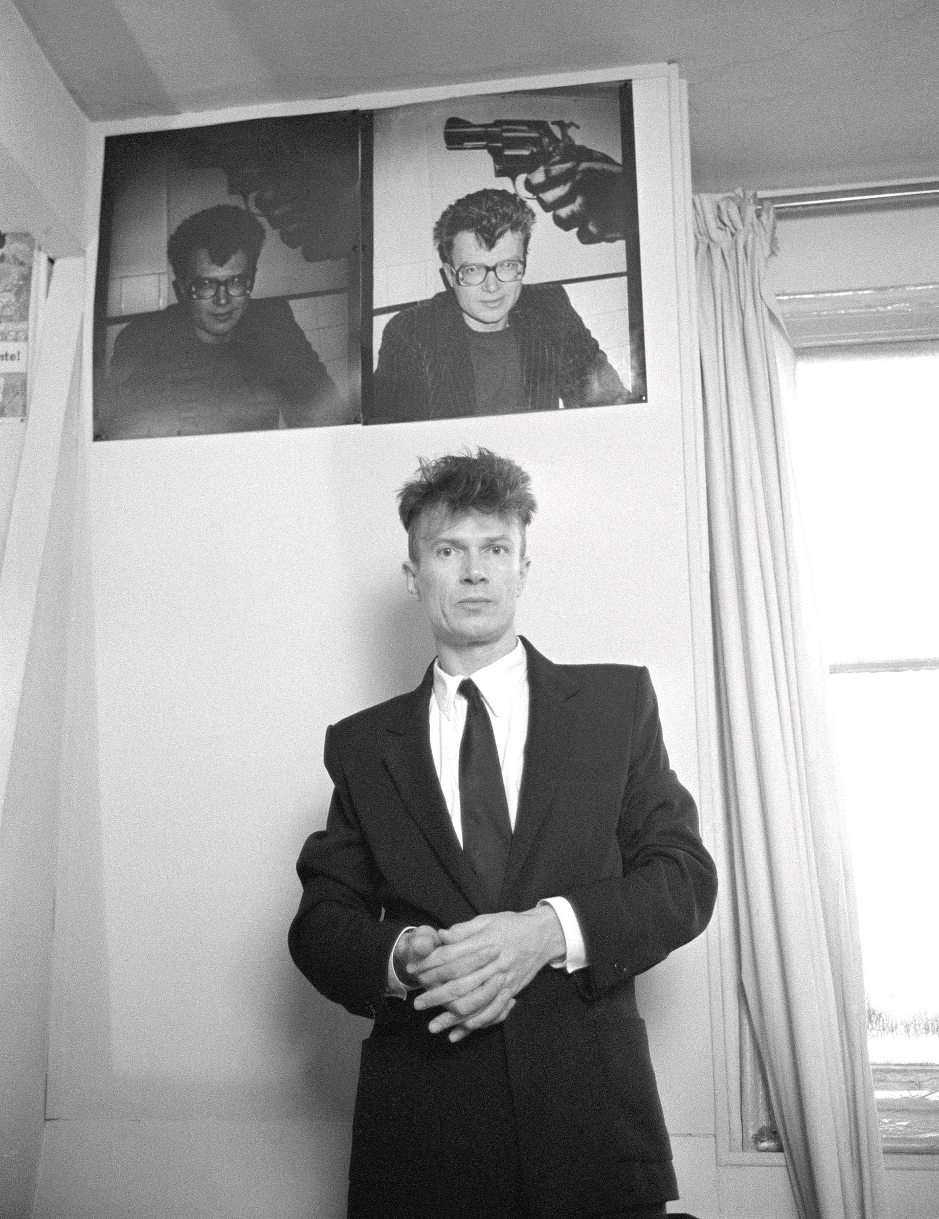Eduard Limónov en 1987.