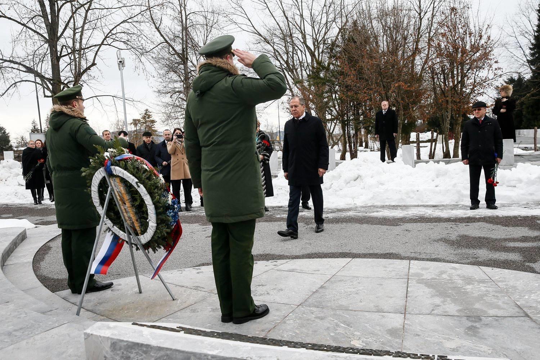 Sergej Lavrov na Žalah