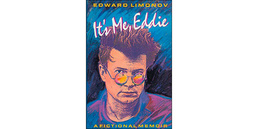 The cover of Limonov's first novel dedicated to his life in New York City