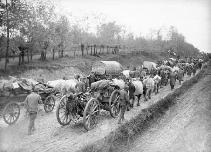 Повлекување на српската војска