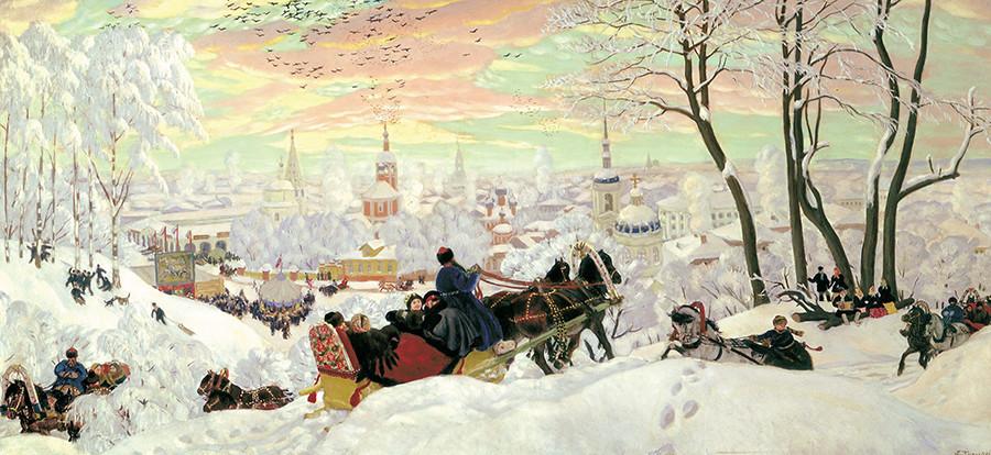 Maslenitsa, Il martedì delle frittelle, 1916
