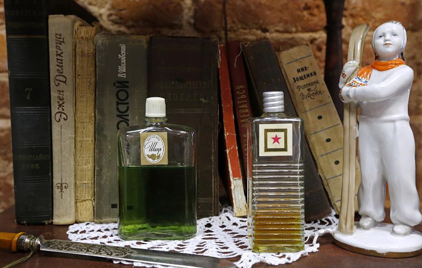 Chypre eau de cologne. Precej dober parfum za sovjetske standarde, ampak grozna stvar za pitje.