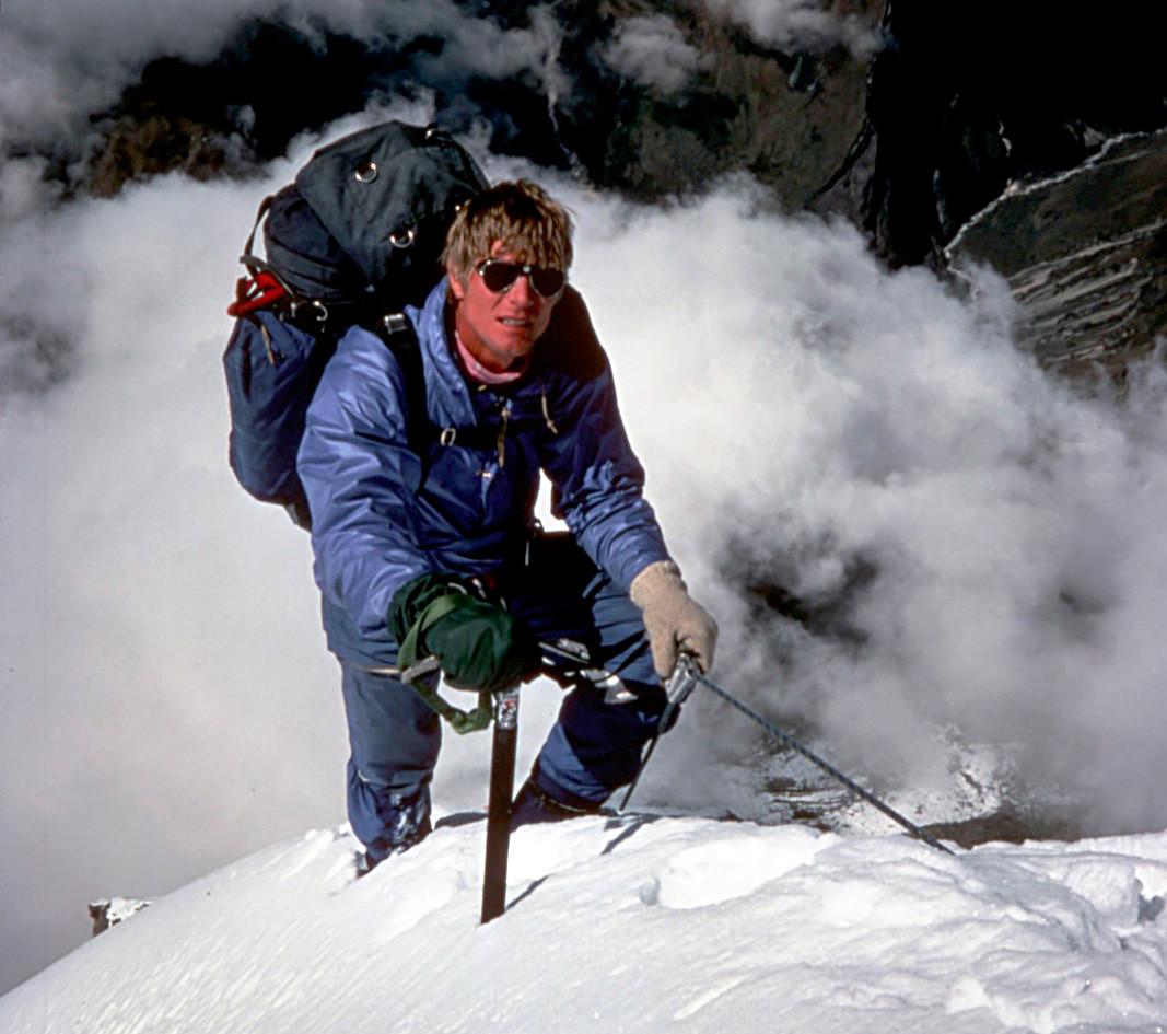 Scott Fischer di Annapurna Fang (Varaha Shikhar) pada 1984.