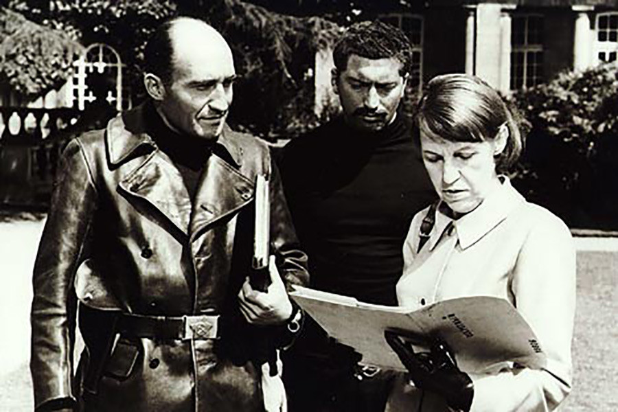 German actor Gotell played the role of KGB head Anatoly Gogol in six Bond films.