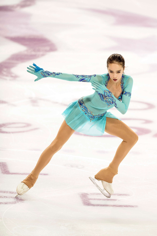 """Zu dem """"neutralen """" Start Russlands bei den diesjährigen Olympischen Spielen in Südkorea sagte Sagitowa: """"Leider ist es so gekommen. Aber jeder weiß doch, für welches Land er startet, und ich weiß, welches Land ich vertreten werde."""""""