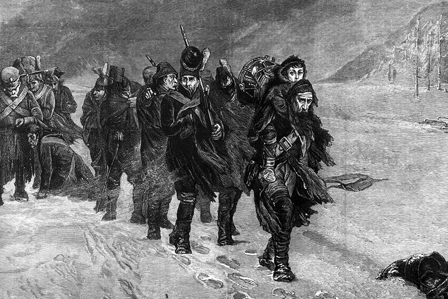 Marš iz Moskve,  Laslett John Pott