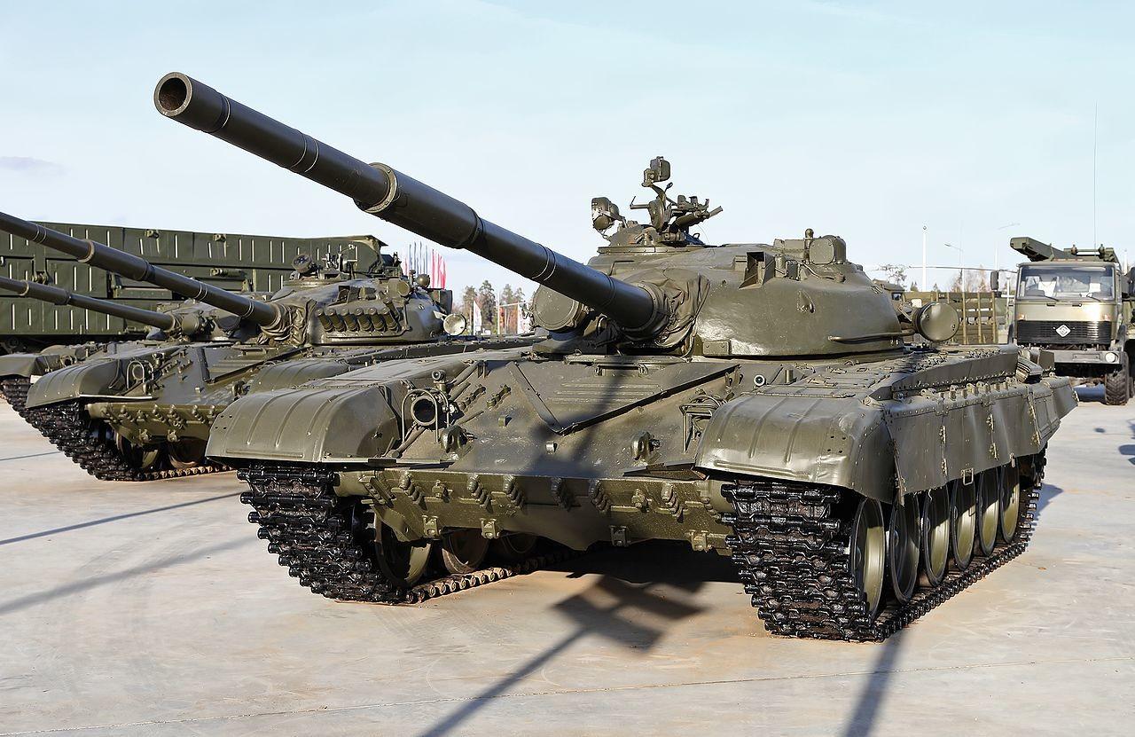 Osnovni model T-72, ki je služil kot podlaga za M-84.