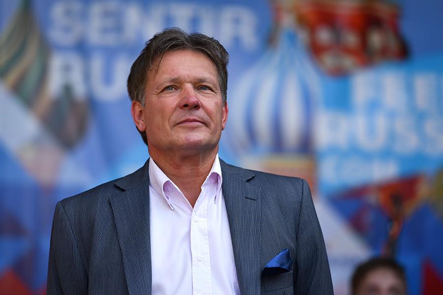 O embaixador russo na Argentina, Viktor Koronelli.