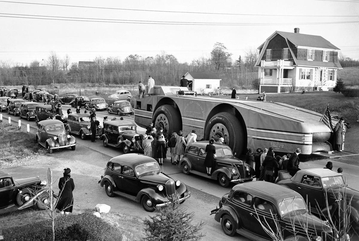 米国型オフロードカー「アンタークティック・スノークルーザー」、マサチューセッツ、1939年