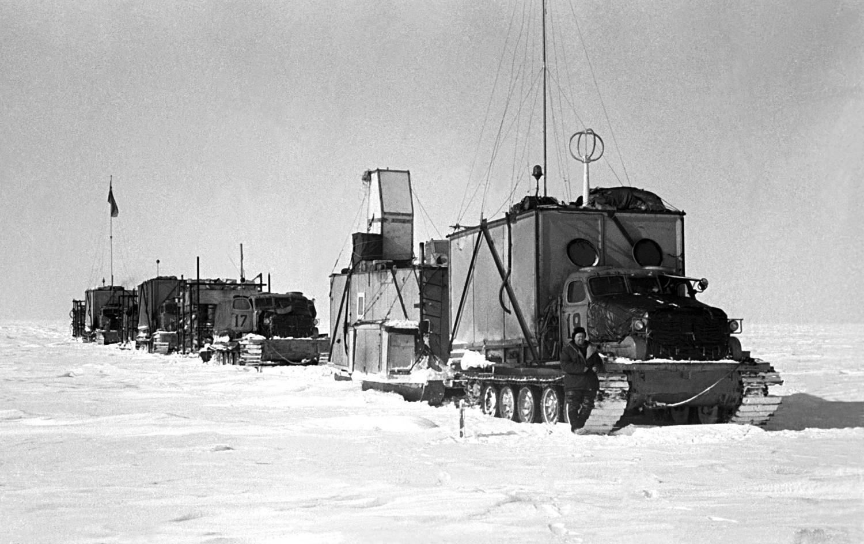 ソ連の第三次南極探検隊