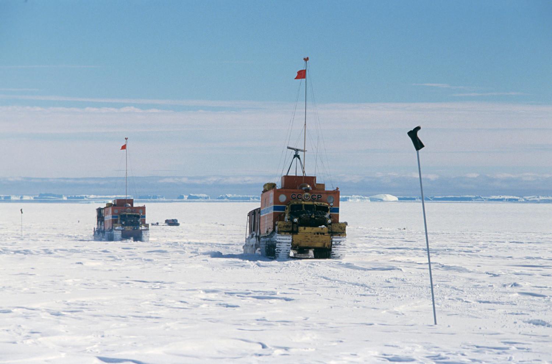 ソ連の南極探検隊、1988~1989年