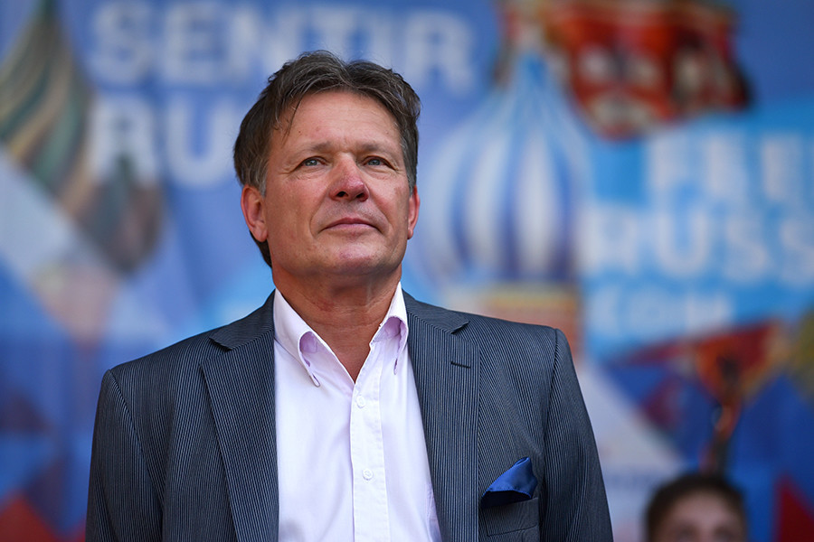 L'ambassadeur de Russie en Argentine, Viktor Koronelli