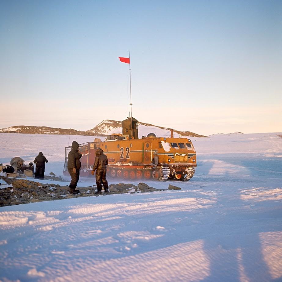 Postaja Novolazarevskaja, Antarktika